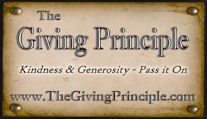 Giving is good for the soul!!!   Kids, especially learn important life lessons from giving. Find more on this website: http://thegivingprinciple.com/print_cards.htm