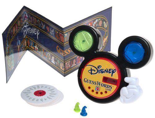 Disney Guesswords Board Game by matell @ niftywarehouse.com #NiftyWarehouse #Disney #DisneyMovies #Animated #Film #DisneyFilms #DisneyCartoons #Kids #Cartoons