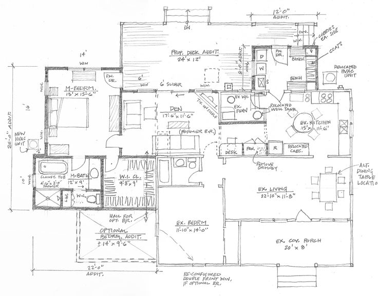 Street, MD - Residence Proposed plan for Addition & Alteration Work