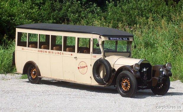 1919 Pierce-Arrow Intercity Coach Bus