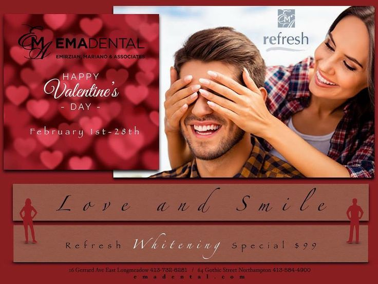 Your smile is the first thing you notice let him or her know you care with a unique spa visit.  A beautiful smile is well received in the language of LOVE!!! Enjoy this Refresh Whitening Special for the entire month of February see noticeably whiter teeth... the gift that keeps on giving!  #valentinesday #shinebright #giftideas  #valentinesday2018 #valentines #happyvalentinesday #invisalign #teethwhitening #oralhealth #teethwhiteningkit #smile #whiteteeth #teeth #dentistry #dentalhygiene…