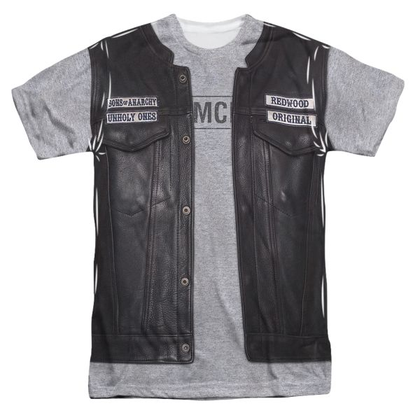 SONS OF ANARCHY/UNHOLY COSTUME (FRONT/BACK PRINT)