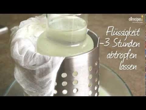 Rezept: Käse selber machen: Spanischer Frischkäse (Queso Blanco) - Allrecipes Deutschland - YouTube