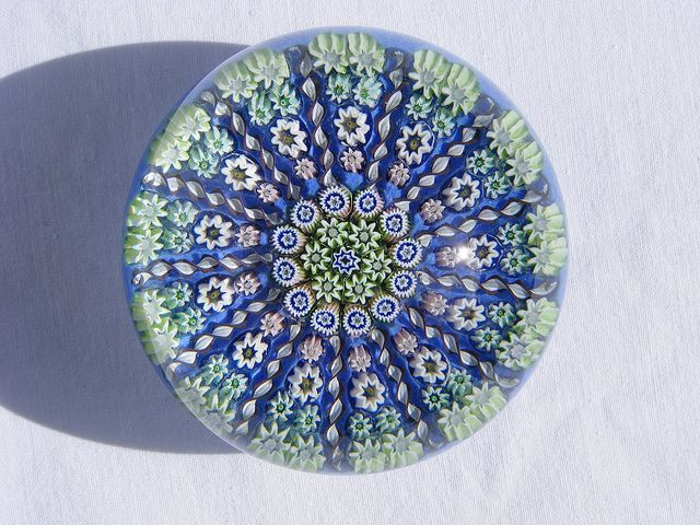 Perthshire Paperweights millefiori glass paperweight by art-of-glass, via Flickr