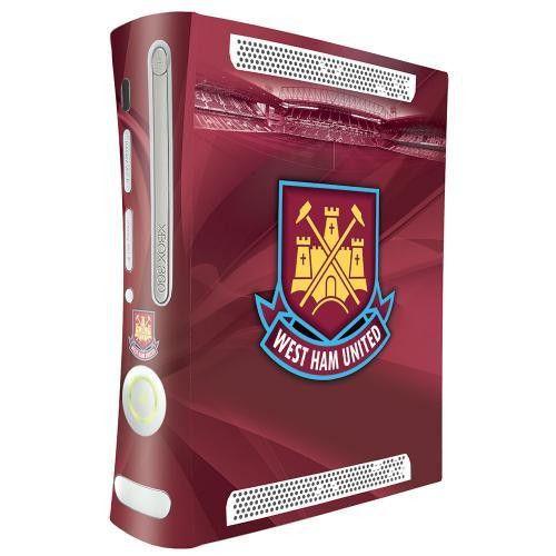 West Ham United F.C. Xbox 360 Console Skin