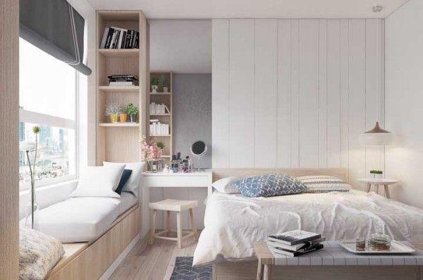 Uber 60 Ideen Fur Moderne Wandgestaltung Mit Nischen Schlafzimmerideen Fur Kleine Raume Kleines Schlafzimmer Einrichten Und Schlafzimmer Design