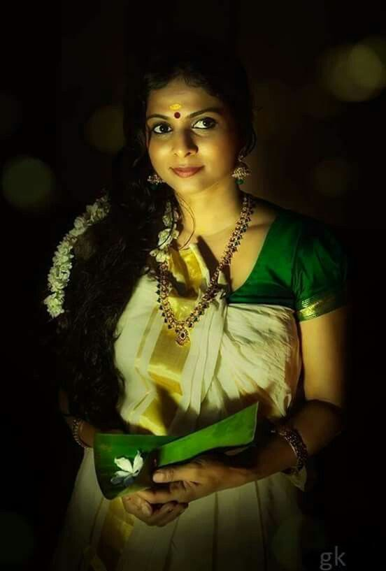 Traditional Kerala attire