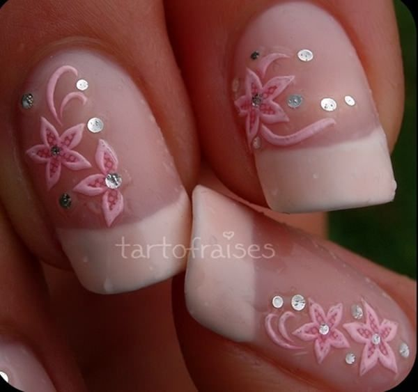 Fascinating Pink Nail Art Design Which Will Dazzle You For Sure – Nail Art