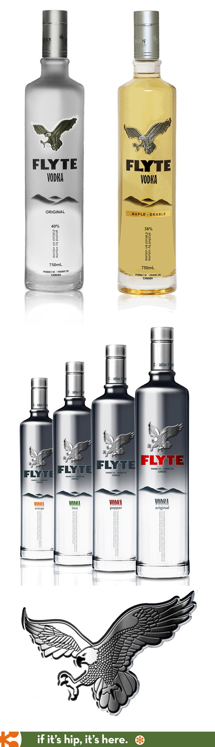 Flyte Premium Vodkas from Canada