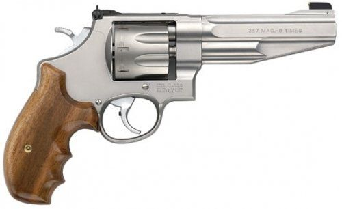Smith  Wesson 627 Performance Center 8-Round .357 Mag Revolver, 5″ Barrel, Matte Stainless, 170210
