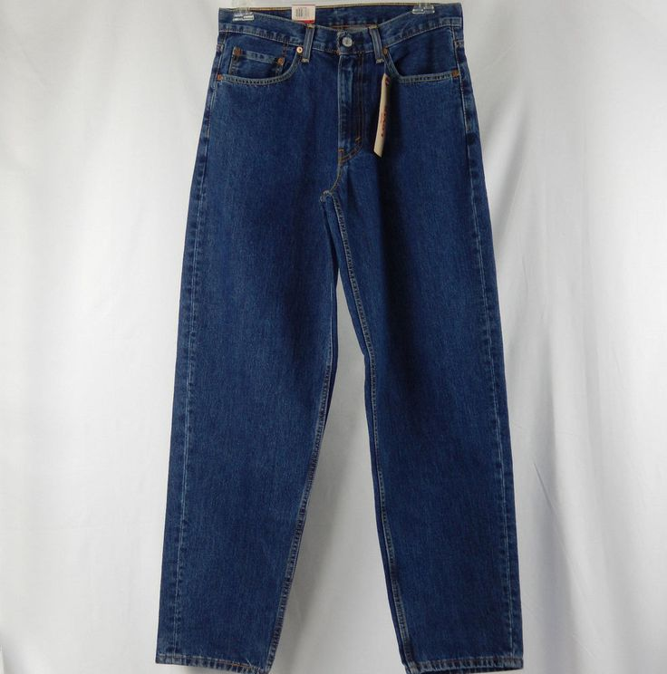 Levis 560 Comfort Fit Jeans Mens Size 33x34 Relaxed Through Thigh Tapered Leg #Levis #Relaxed