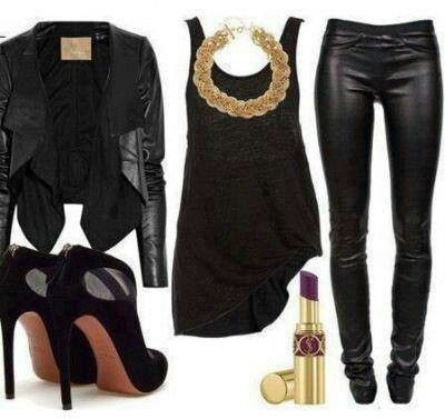 all black party outfit ideas - photo #19