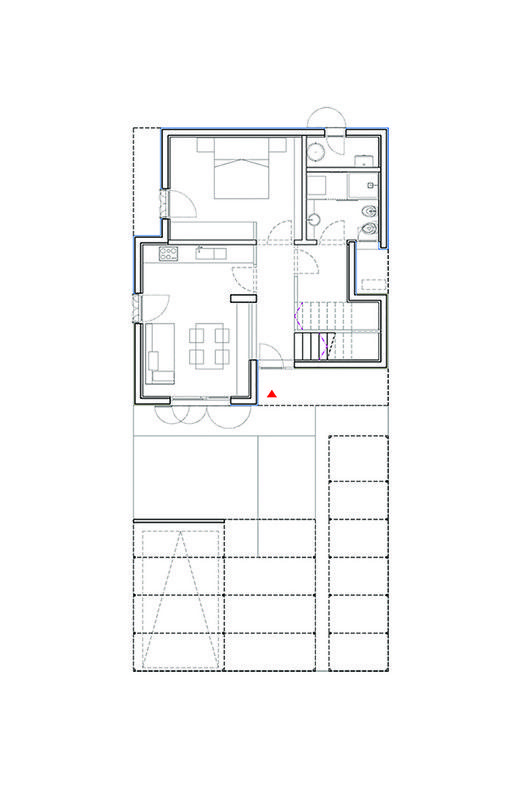 House in Novellara,First Floor Plan