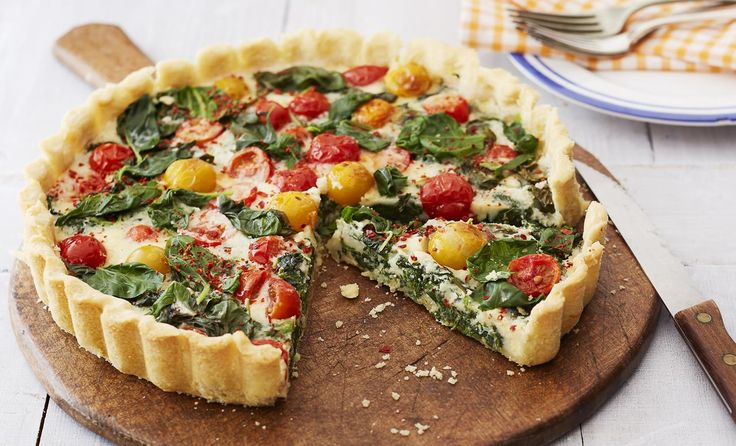 Vegane Spinat Quiche | Flora (Vegan Bbq Rezepte)