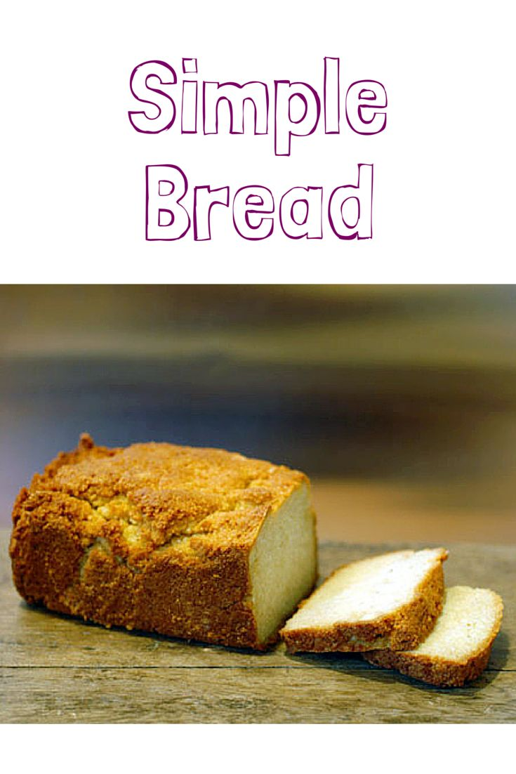 This low-carb gluten-free bread recipe is easy to make. Simple Bread has only 6 ingredients –almond flour, baking soda, salt, eggs, honey, and apple cider vinegar. It's the perfect healthy homemade bread recipe for those that have recently gone gluten-free.