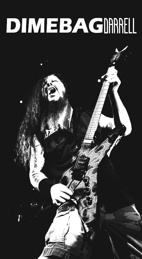 """""""Music drives you. It wakes you up, it gets you pumping. And, at the end of the day, the correct tune will chill you down."""" -Dimebag Darrell [20/8/1966 - 8/12/2004]"""