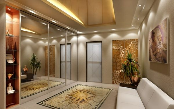 Deckengestaltung im Wohnzimmer \u2013 erstaunliche, abgehängte - Deckengestaltung Teil 1