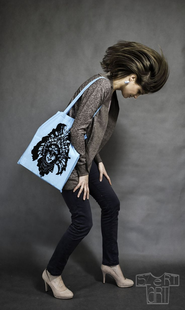 100% cotton Limited collection of 10 bags and 5 t-shirts Handmade Screenprinting  Photo by: Daniel Gnap
