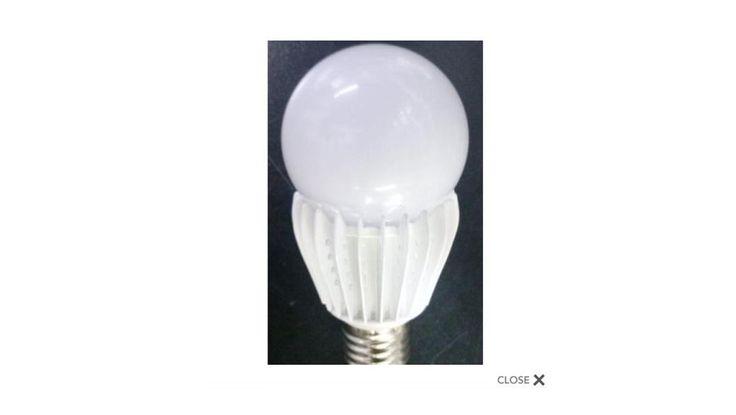 LAMPADA LED ATTACCO E27 10W LUMINOSITA REALE 100W. (www.solarautomation.it)