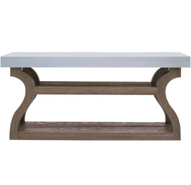 Great shape and a functional shelf. Christian Liaigre