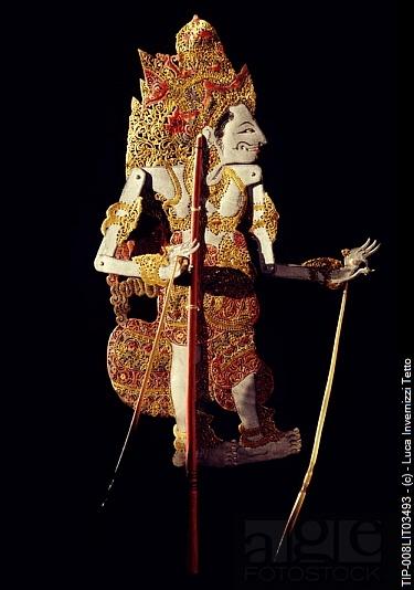 www.villabuddha.com Bali The shadow puppet. Bali, Indonesia