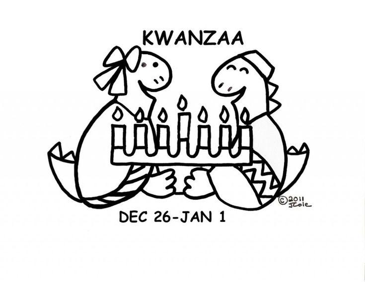 Kwanzaa Bingo Board No5 Coloring Page Chanukah symbols ...