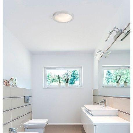 Φωτιστικό μπάνιου LED LOGOS αλουμινίου λευκό πολυκαρβονικό