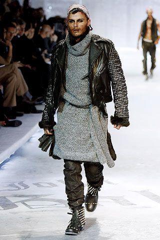 John Galliano Fall 2008 Menswear Fashion Show