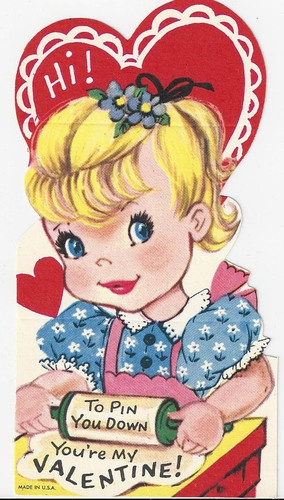 1077 best Vintage Valentine Images images on Pinterest