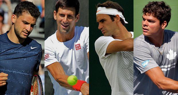Wimbledon Day 11: Men's Semifinals - Order of Play & Scores - http://www.tennisfrontier.com/news/atp-tennis/wimbledon-day-11-mens-semifinals-order-of-play-scores/