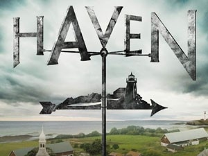 Haven on SyFy. This show is filmed in and around my hometown of Chester, Nova Scotia. SO cool having a show I love filmed all around me :)