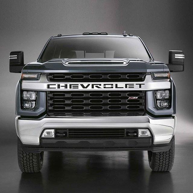Chevrolet Silverado Hd 2020 General Motors Revelou As Primeiras Imagens Da Nova Silverado Hd Mas Nao Confirmou Quais Chevrolet Silverado General Motors Carros