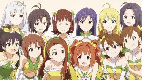 idolm@ster+episode+26 | Idolm@ster Chihaya Kisaragi, Takane Shijou, Iori, Mami, Hibiki and Yayoi