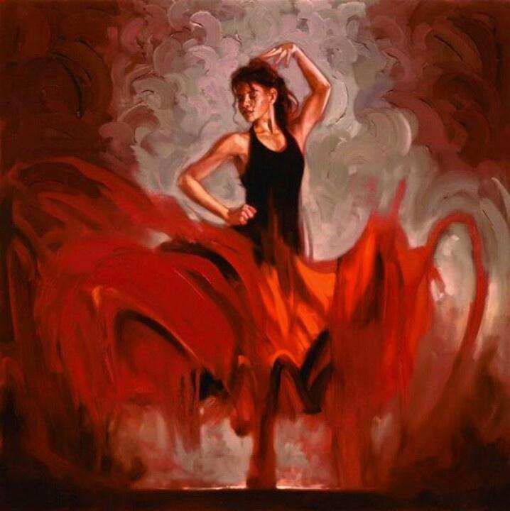 112 best flamenco art images on pinterest flamenco dancers spanish dancer and art paintings. Black Bedroom Furniture Sets. Home Design Ideas