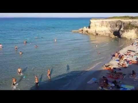 Salento Pineta e mare di Conca Specchiulla a Otranto - YouTube