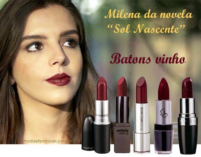 batom-vinho-da-milena-novela-sol-nascente-giovanna-lancelotti