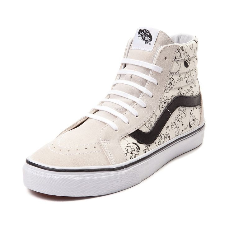vans x disney sk8hi 101 dalmatians shoes