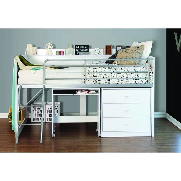 8 Loft Bed Tips For Your Small Room Low Loft Beds Bed Desk