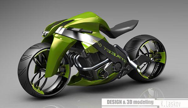 STREET BIKE motorcycle concept