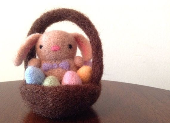Needle Felted Bunny, needle felted animals, wool animal, natural toys, handmade gift, cute animals, miniature bunny, miniature animals, felting, felted easter bunny, floppy eared bunny, easter decoration, easter eggs, Easter gift, spring decoration