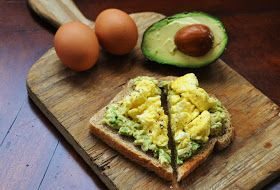 This is so simple, it is almost ridiculous to post as a recipe but it is so good and healthy I can't resist. For years, eggs and avocado...