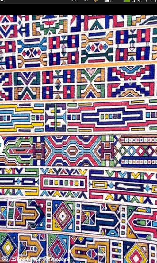Ndebele patterns