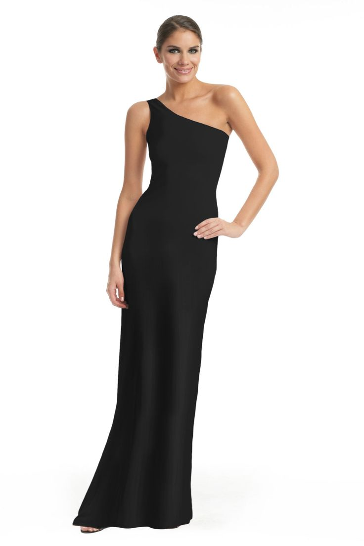 Calvin Klein Collection Black Panther Gown (Retail: 795 // Rental 160). Another simple yet gorgeous black gown. Pair it with a statement piece like earrings or colored heels.