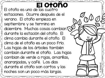 INFORMATIVE PASSAGES (CLOSE READING-FALL EDITION) IN SPANISH…