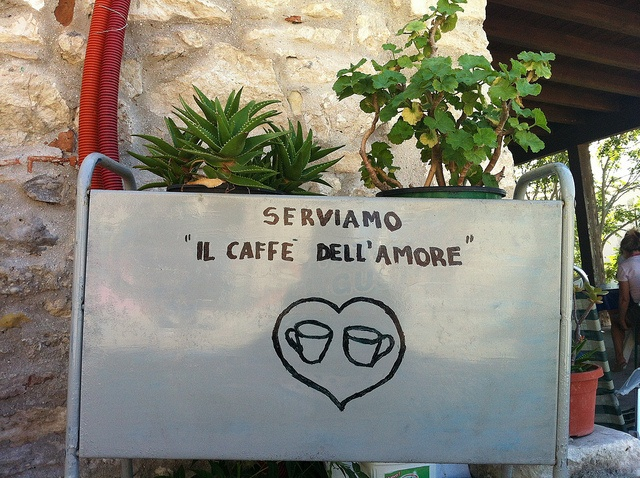 Coffee break...con amore :) #garganoecotour