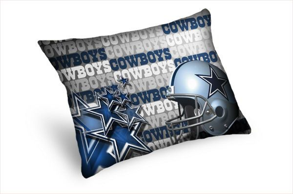 DALLAS COWBOYS CUSTOM PILLOW CASES 20''X26'' (TWIN SIDES) #Unbranded #Americana