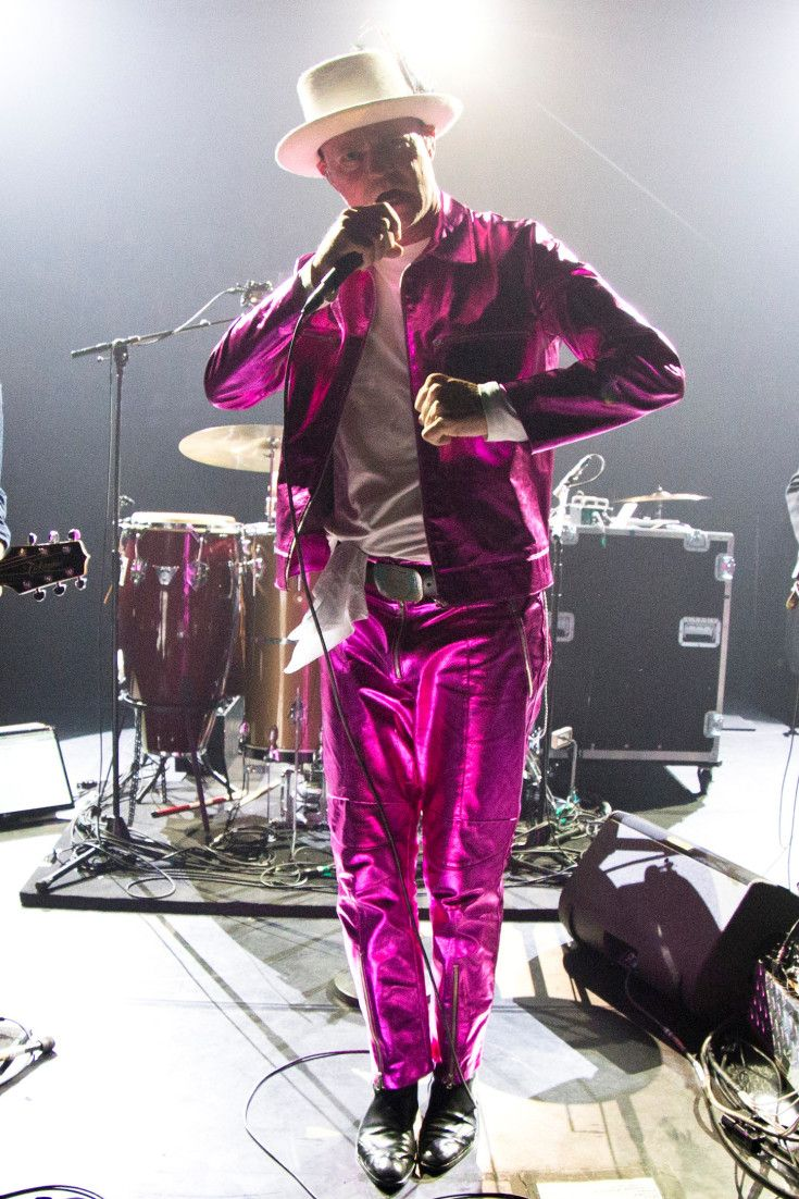Gord Downie in his finest suit