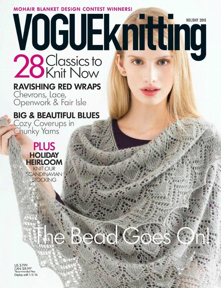 Альбом «VOGUE knitting holiday 2015».