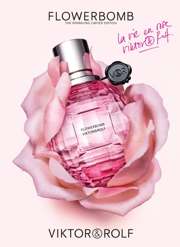 Viktor and Rolf - Flowerbomb. . .I am going to saturate my body with this…
