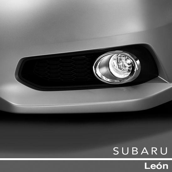 #SubaruLegacy. Faros de Niebla . Los faros de niebla son estándar en todos los modelos, para mayor seguridad cuando hay niebla y bruma.
